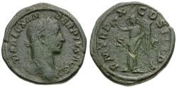 Ancient Coins - Severus Alexander Æ Sestertius / Victory