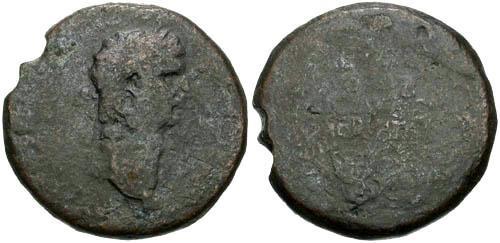 Ancient Coins - VG/G Claudius Sestertius / Legend in Wreath