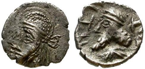 Ancient Coins - EF/EF Kapat King of Persis Obol