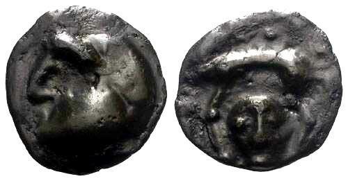 Ancient Coins - EF/EF Rare Haute et Moyenne Seine Potin 1/2 Unit