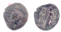 Ancient Coins - INDO-GREEK DIODOTUS AE CHALKOUS