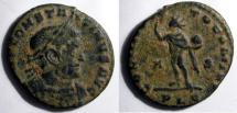 Ancient Coins - Constantine, AE Folles; Sol reverse, mint of Lyons.