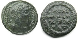 Ancient Coins - Contantine I: AE Folles, Thessalonica, VOT reverse