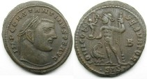 Ancient Coins - Constantine I: AE Folles, Siscia, Jupiter reverse