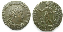 Ancient Coins - Contantine I: AE Folles, Rome, Sol reverse