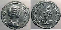 Ancient Coins - Julian Domna, AR Denarius, Isis reverse