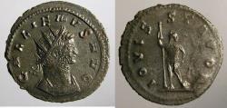 Ancient Coins - Gallienus, Antoninianus, Jupiter reverse.