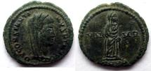 Ancient Coins - Constantine I-Deified: AE Folles, Cyzicus.