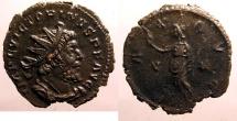 Ancient Coins - Victorinus: Billon antoninianus, Pax reverse