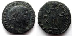 Ancient Coins - Constantine I: AE Folles, Rome, Sol reverse