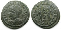Ancient Coins - Constantine I: AE Folles, Siscia, Victories reverse