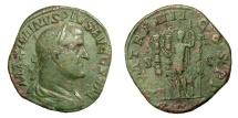 Ancient Coins - MAXIMINUS I., AD 235 - 238.   Sestertius, Rome, AD 238.   VF.