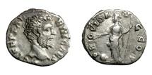 Ancient Coins - CLODIUS ALBINUS, Caesar AD 193 - 195.   Denarius, Rome, AD 193.   Good VF.