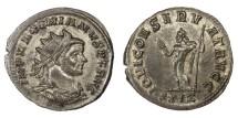 Ancient Coins - MAXIMIAN, AD 286 - 305/310.   Antoninianus, Rome, AD 286.   EF.