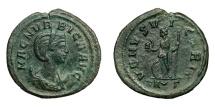 Ancient Coins - MAGNIA URBICA, wife of Carinus, AD 283 - 285.   Antoninianus, Rome.   Rare, near EF.
