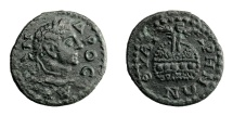 Ancient Coins - Lydia - Thyateira.   SEVERUS ALEXANDER, AD 222 - 235. Æ 20.   Rare, EF.