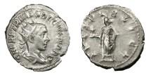 Ancient Coins - HERENNIUS ETRUSCUS, Caesar AD 250 - 251.   Antoninianus, Rome.   Rare, good VF.