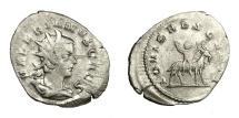 Ancient Coins - VALERIAN II, Caesar AD 256 - 258.   Antoninianus, Cologne, AD 257 - 258.   VF.