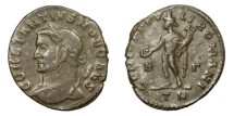 Ancient Coins - CONSTANTIUS I, Caesar AD 293 - 305.   Follis, Treveri (Trier), AD 296 - 297.   Rare, VF.