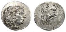 Ancient Coins - MESEMBRIA.   Tetradrachm, 2nd century BC. In the name and types of Alexander III.   Near EF.