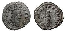 Ancient Coins - GALLIENUS, AD 253 - 268.   Antoninianus, Rome, AD 260 - 268.   EF.