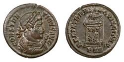 Ancient Coins - CONSTANTINE I, AD 307 - 337.   Follis, Treveri (Trier), AD 321.   EF.