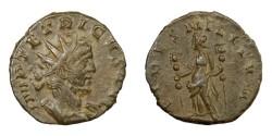 Ancient Coins - TETRICUS I, AD 271 - 274.   Antoninianus, Treveri (Trier) or Cologne, AD 271.   Near EF.