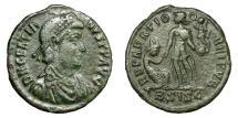 Ancient Coins - GRATIAN, AD 367 - 383.   Æ, Siscia AD 378 - 383.   VF.