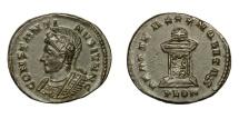Ancient Coins - CONSTANTINE II, Caesar AD 317 - 337.   Follis, (Londinium) London, AD 323 - 324.   EF.