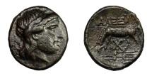 Ancient Coins - Troas - ALEXANDRIA.   Æ 18, 3rd century BC.   Rare, near EF.