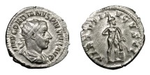 Ancient Coins - GORDIAN III, AD 238 - 244.   Antoninianus, Rome, AD 241 - 243.   EF.