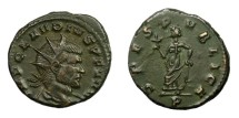 Ancient Coins - CLAUDIUS II, AD 268 - 270.   Antoninianus, Mediolanum (Milan).   Near EF.