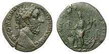 Ancient Coins - COMMODUS, AD 177 - 192.   Sestertius, Rome, AD 181 - 182.   Good VF.