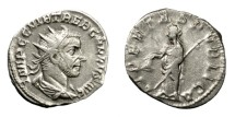 Ancient Coins - TREBONIANUS GALLUS, AD 251 - 253.   Antoninianus, Mediolanum (Milan).   Good VF.