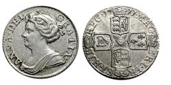 World Coins -  Anne.. Sixpence.. 1711. EF or better.