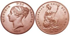 World Coins - Victoria. Penny. 1858.   Uncirculated.