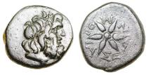 Ancient Coins - Thraco-Macedonian. MORIASEIS.. Ae 21..4th known example for the mint and by far the best.