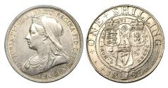 World Coins - Victoria. Shilling. 1893. Uncirculated.