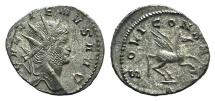 Ancient Coins - Gallienus (253-268). Antoninianus. Rome, 267-8. R/ PEGASUS