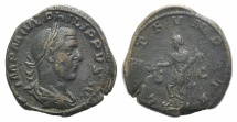 Ancient Coins - Philip I (244-249). Æ Sestertius. Rome, 249.  R/ FORTUNA