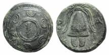 Ancient Coins - Kings of Macedon, Alexander III 'the Great' (336-323 BC). Æ 14mm. Amphipolis, c. 325-310 BC.