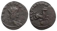 Ancient Coins - Gallienus (253-268). Antoninianus - Rome - R/ Capricorn