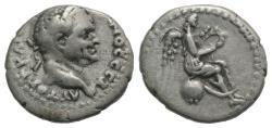 Ancient Coins - Vespasian (69-79). Cappadocia, Caesarea. AR Hemidrachm, c. AD 69-79.