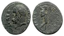 Ancient Coins - Lydia, Maeonia. Pseudo-autonomous, time of Trajan (98-127). Æ - Demetrios, magistrate - SCARCE