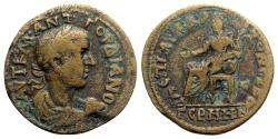 Ancient Coins - Gordian III (238-244). Mysia, Germe. Æ - Ael Aristoneikos, strategos - RARE