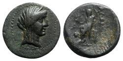 Ancient Coins - Cilicia, Adana, 164-27 BC. Æ - Demeter / Zeus