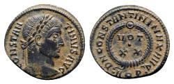 Ancient Coins - Constantine I (307/310-337). Æ Follis - Aquileia