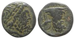 Ancient Coins - Akarnania, The Oiniadai, c. 219-211 BC. Æ