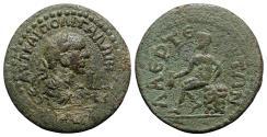 Ancient Coins - Gallienus (253-268). Cilicia, Laerte. Æ 11 Assaria - R/ Hermes