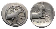 Ancient Coins - Thessaly, Trikka, c. 440-400 BC. AR Hemidrachm -